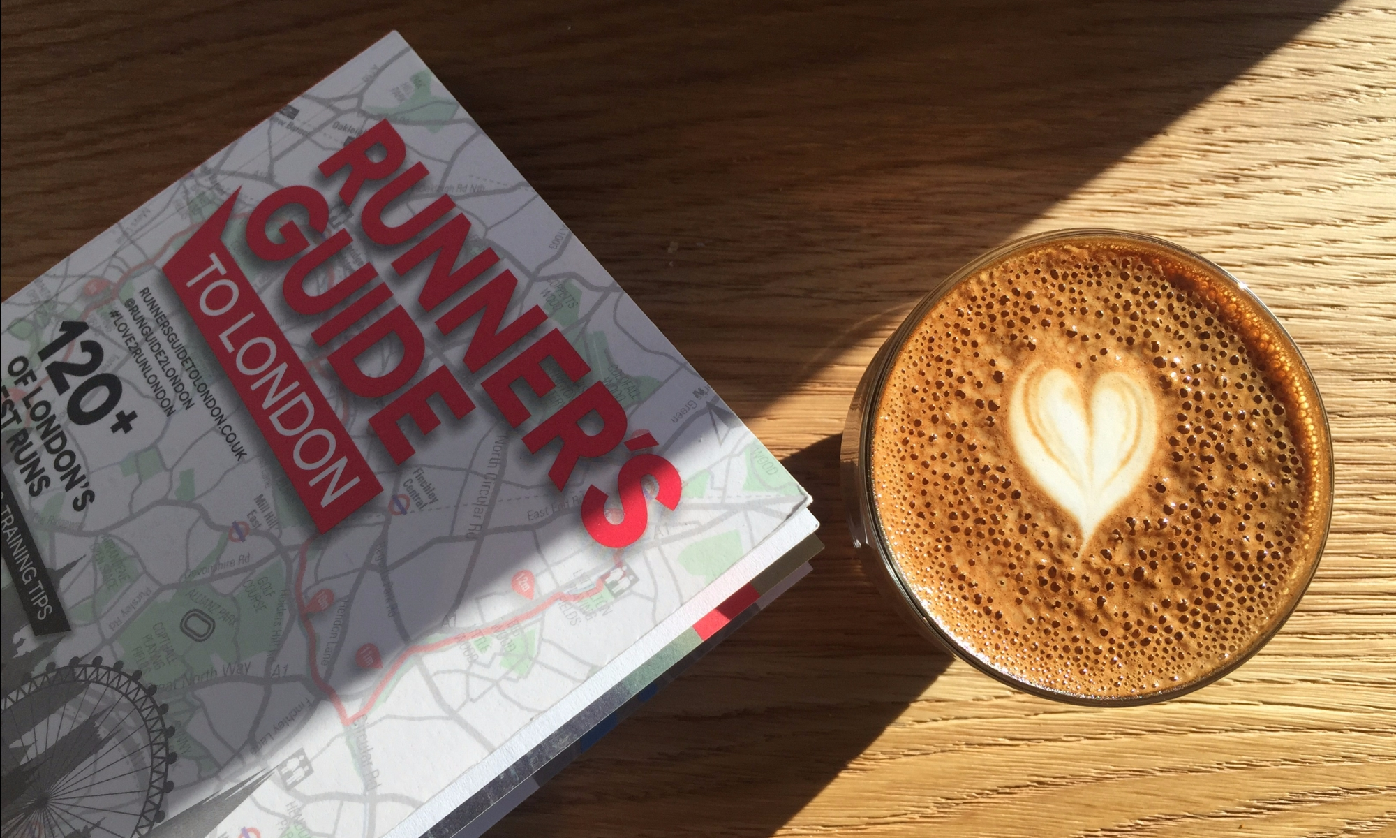 Flat White + Planning next week's runs